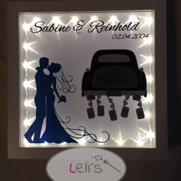 3d Rahmen Geldgeschenk Hochzeit Lelis De Kreative Geschenke